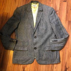 Men's Penguin linen blazer size L